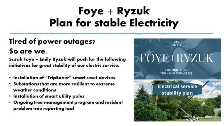 Foye + Ryzuk Plan for Stable Electricity