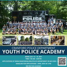 Cranford Police Department's Youth Police Academy Returns This July