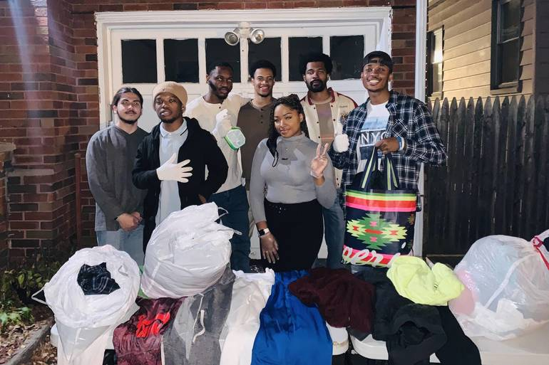 CHS Alums Launch Initiative to Distribute Winter Clothes this December