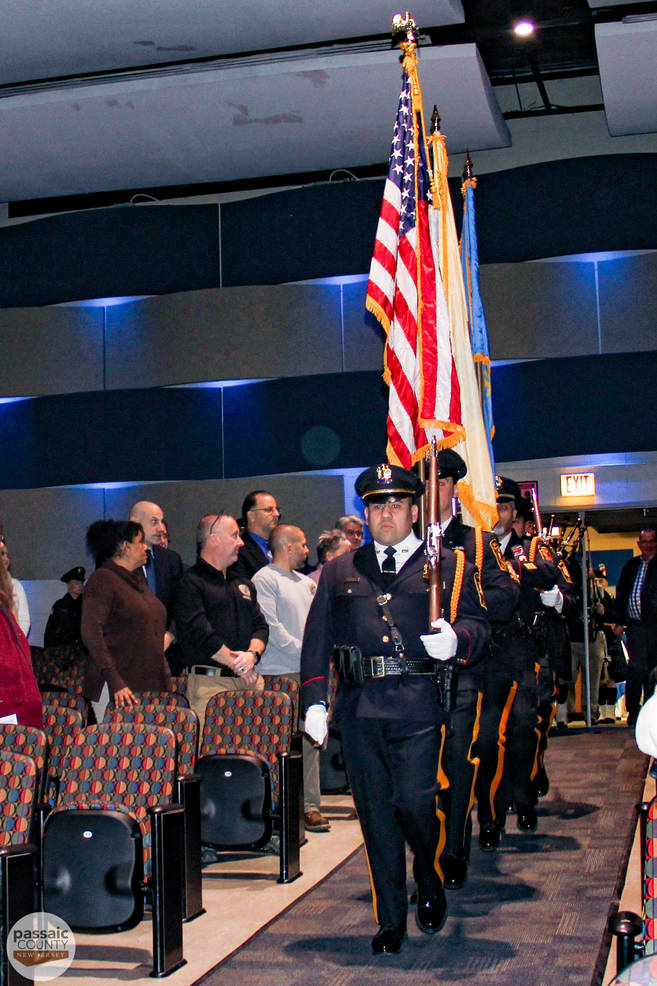 Presentation of the Colors & Flag Salute