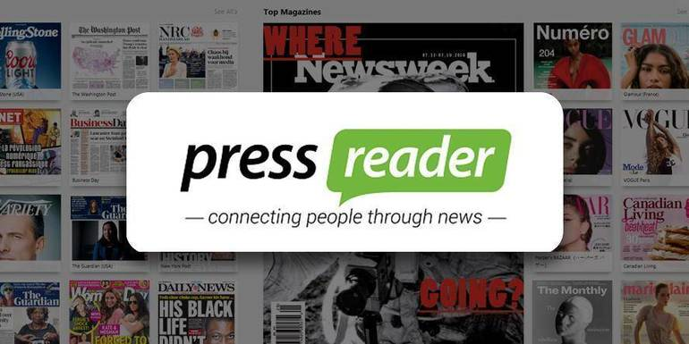 PressReader is Available from the Randolph Township Library