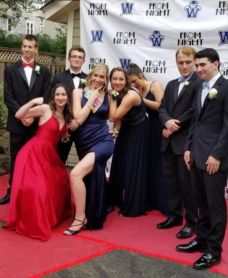 Westfield High: Photos: Snazzily Dressed Westfield High School Seniors