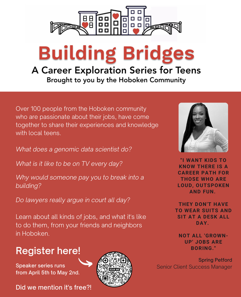 Building Bridges: Hoboken Residents to Share Career Experiences with Local Teens