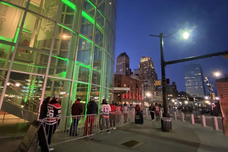 Local Businesses Excited as Prudential Center Reopens to Limited Capacity
