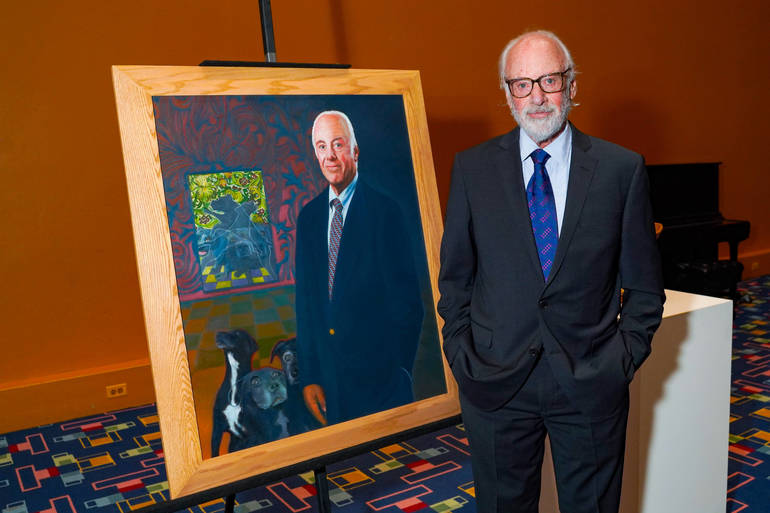 Purchase College President Schwarz Portrait