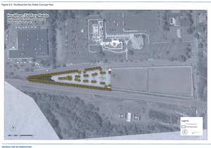 Proposed parking at the Houlihan/Sid Fay Field Complex is seen in an diagram included in Westfield's parks plan.