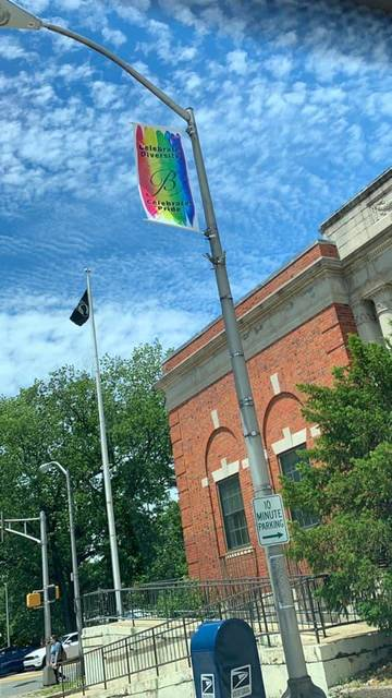 Top story babb659fd745ef5410c4 pride banner over town hall