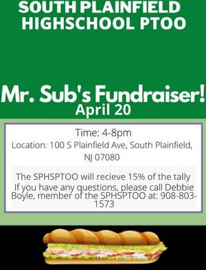 South Plainfield High School Fundraisers
