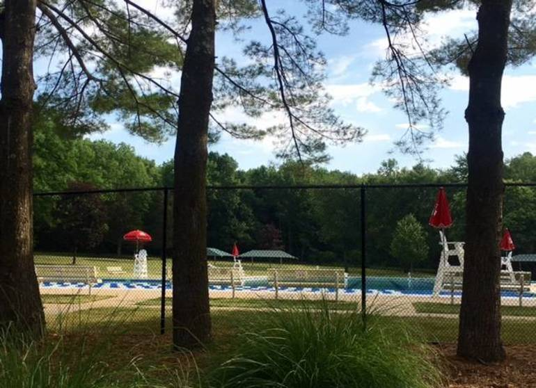 Pool awaits opening in July