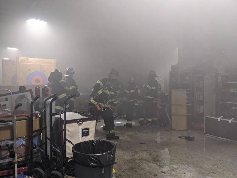 Early-Morning All-Hands Fire Knocked Down at Total Entertainment in Hackensack