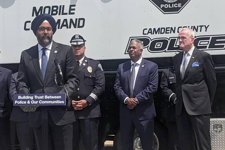 Gov. Murphy Celebrates Start of Statewide Body Camera Program in Camden