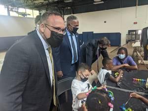 U.S. Secretary of Education Comes to North Camden