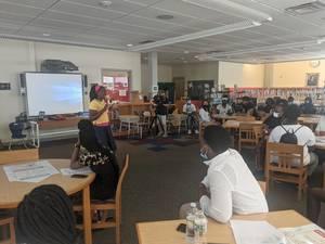 Camden Students Begin Summer Internships Through District Program