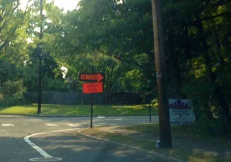 Detour sign - generic