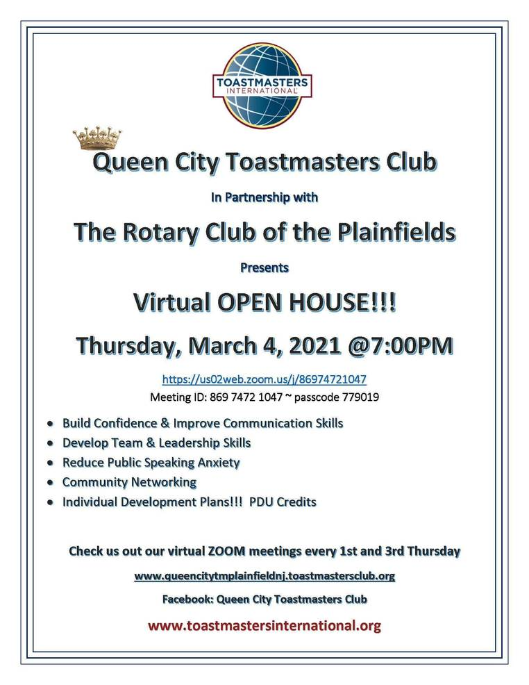 Best crop c397d4bc7f2b720bdbcc queen city toastmasters club open house rev