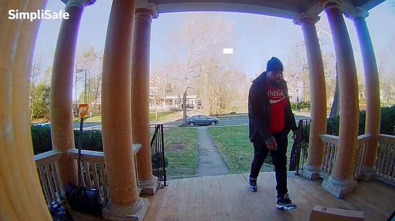 Front porch package thief South Orange