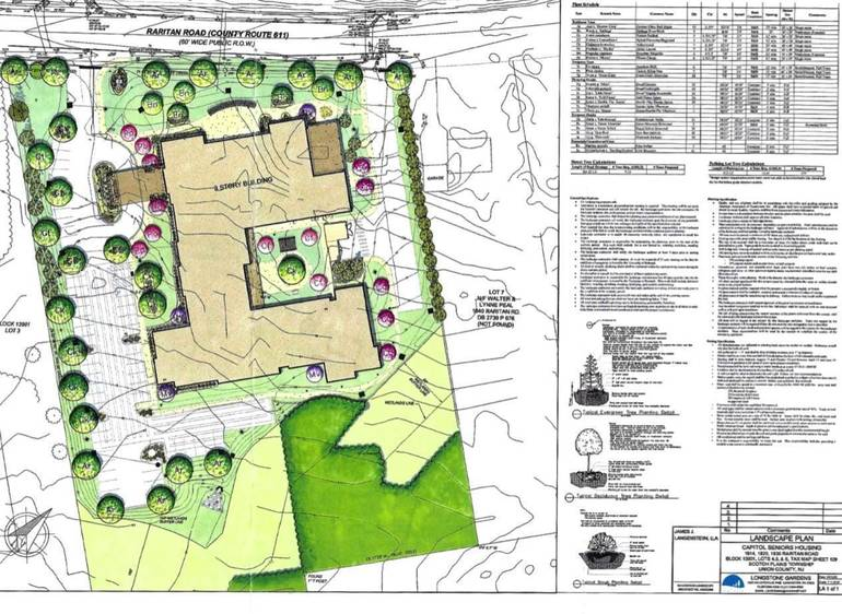 Developer Proposes 86 Unit, Three-Story Senior Living Community on Raritan Road in Scotch Plains
