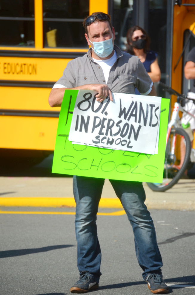Scotch Plains Reopening Rally