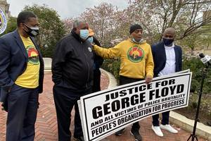 Newark Officials, Social Justice Advocates  Call for Police Reform at Rally Following Chauvin Verdict