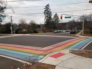Carousel image 6bb325be85d5928792ad rainbow crosswalk
