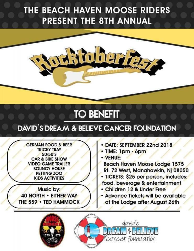 Rocktoberfest 2018 Flyer