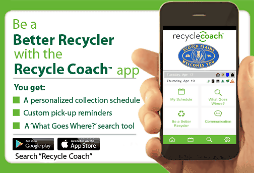 Scotch Plains Launches New Recycle Coach Mobile Application