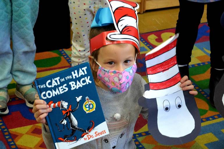 Read Across America Day at Holy Trinity