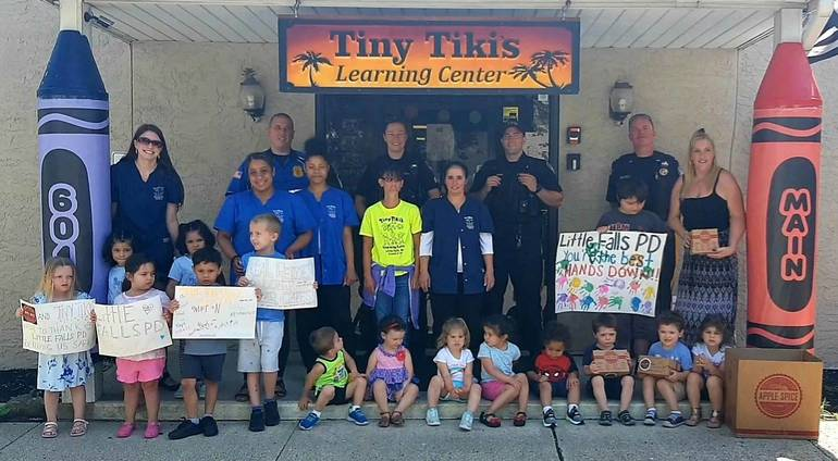 Little Falls Daycare donates lunches