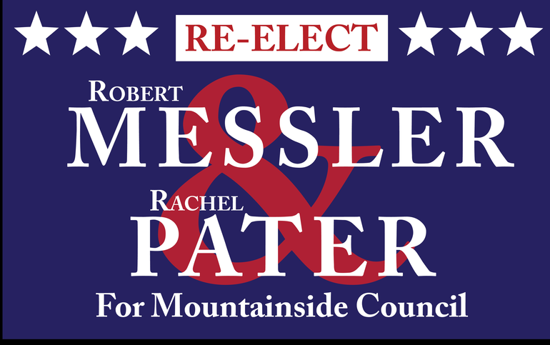 Robert Messler and Rachel Pater Announce Re-Election Campaign for Mountainside Council