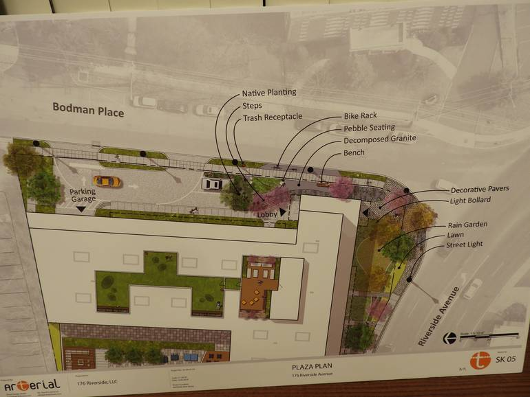 Revised graphic plan to move public plaza from Riverside Ave. to Bodman Place..jpg