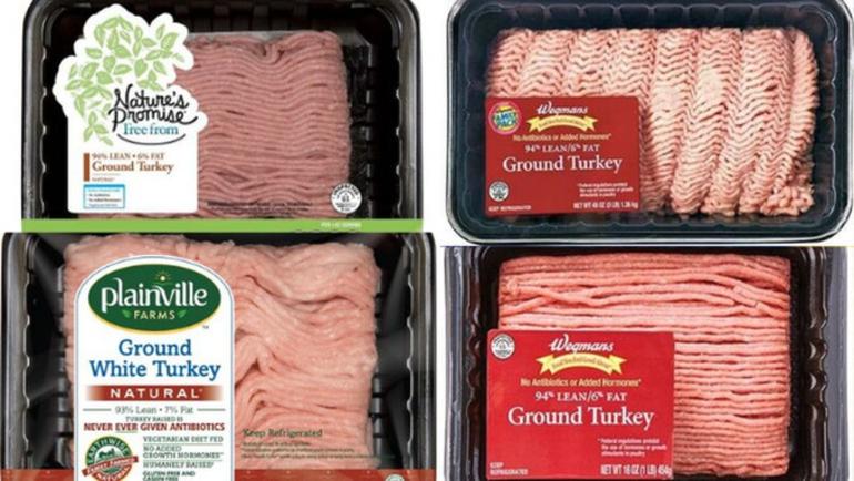 salmonella recall, ground turkey