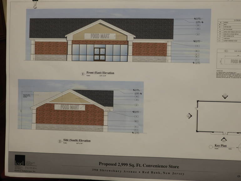 Rendering of the Front and South Side of Planned Convenience Store.JPG