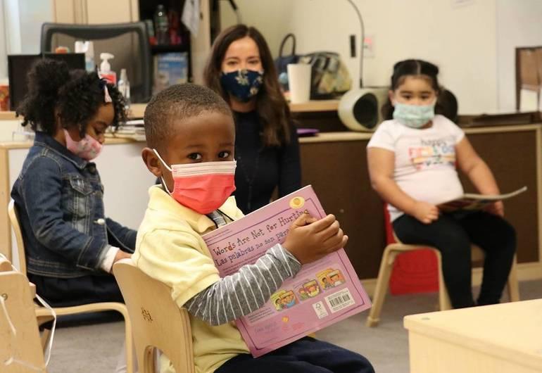 Redshaw School Was Busy as New Brunswick Students Return