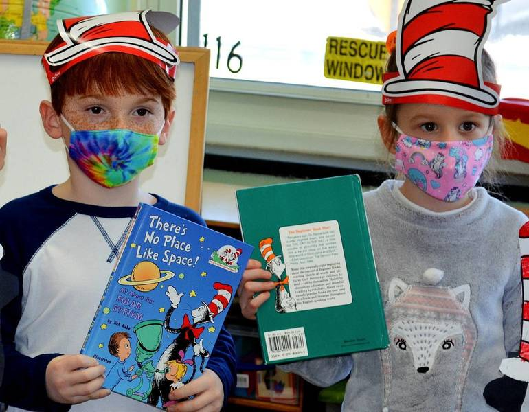 Holy Trinity School Celebrates Read Across America Day