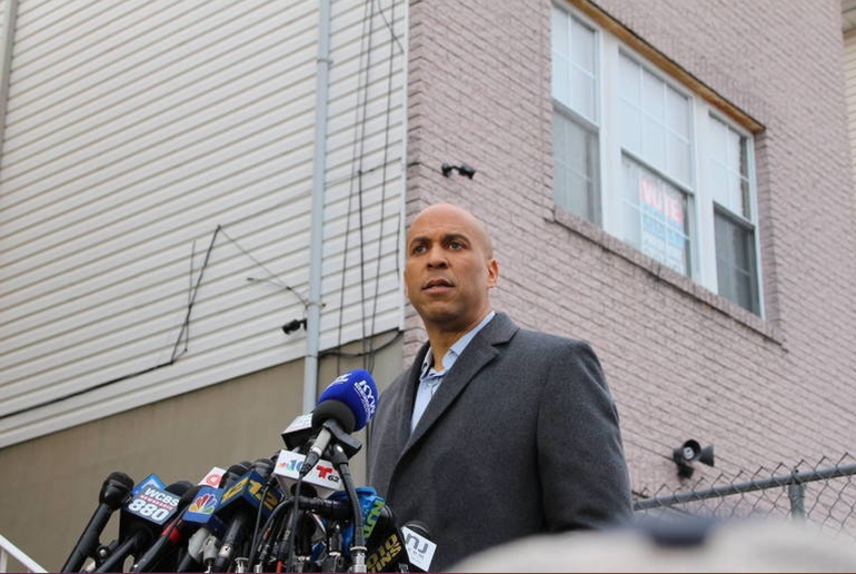 Sen. Cory Booker Eulogizes U.S. Capitol Police Officer Brian Sicknick of South River