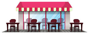 Carousel image 8f3ebe86012f6904aa51 restaurant design with outdoor dining area vector