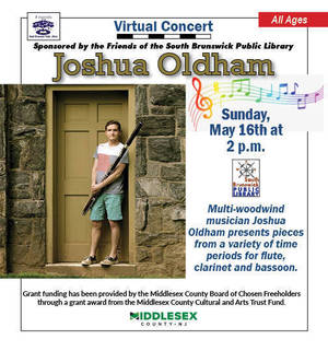 SBHS Faculty Member Joshua Oldham Performs on May 16 at 2 p.m.