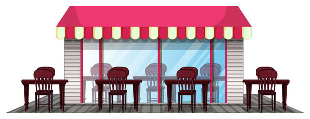 Top story 8f3ebe86012f6904aa51 restaurant design with outdoor dining area vector