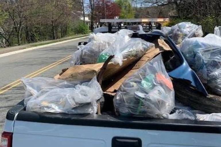Volunteers Clear Piles of Trash from Roxbury Parks, Trails and Lakes