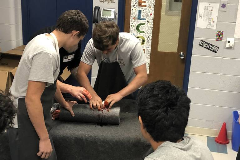 RHS Students get certified in Stop the Bleed.jpeg