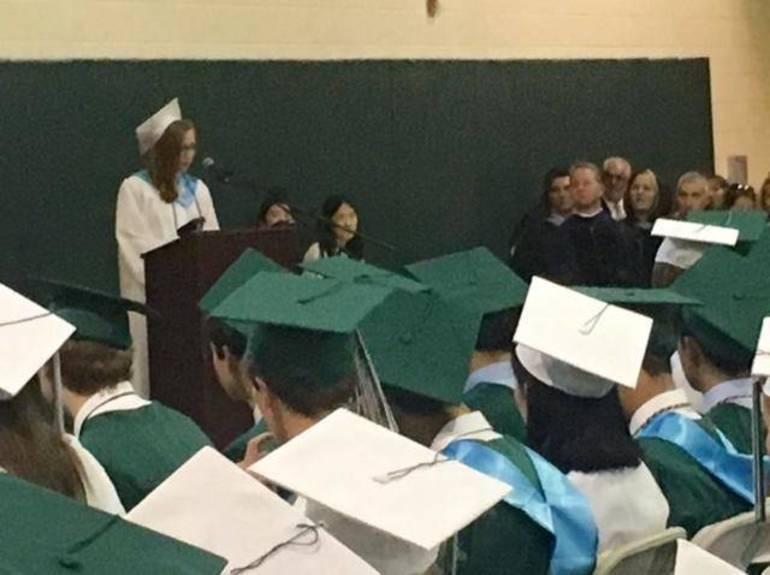 Ridge graduation speaker Rachel Richards