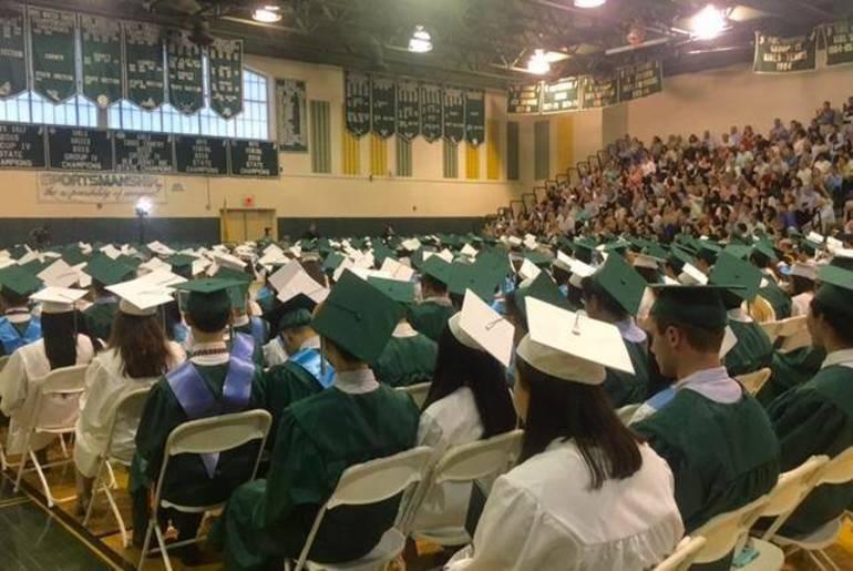 The Ridge graduating class of 2019