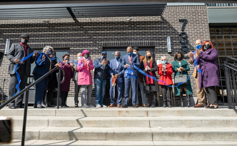 Plainfield Cuts Ribbon on The Station at Grant Avenue