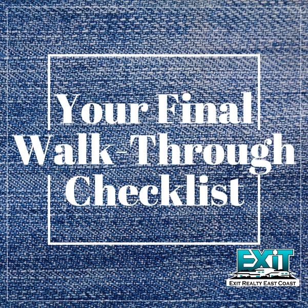 Your Final Walk-Though Checklist
