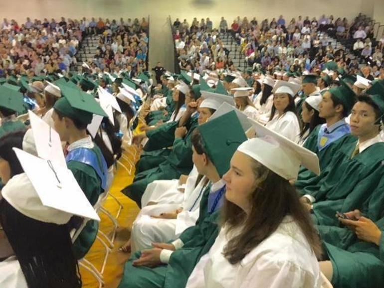 Ridge graduates-to-be