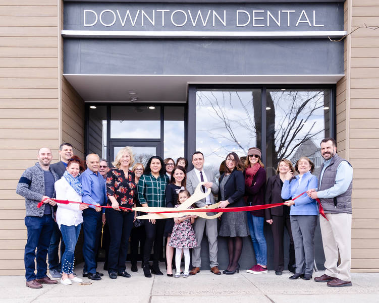 Ribbon Cutting at Downtown Dental