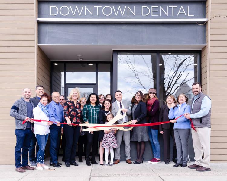 Ribbon Cutting at Downtown Dental