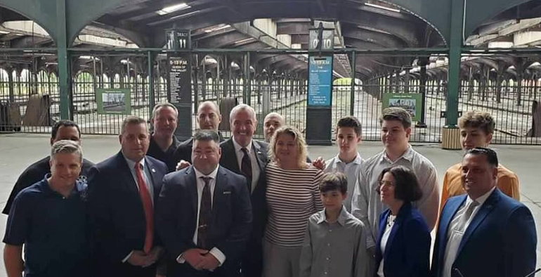 Ricci Family with Gov. Murphy.png