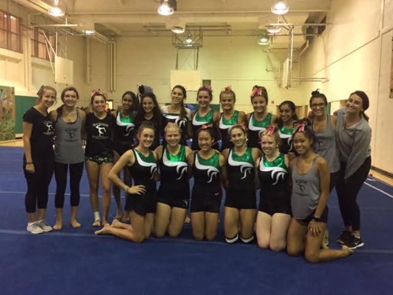 Ridge gymnastics, 1-0