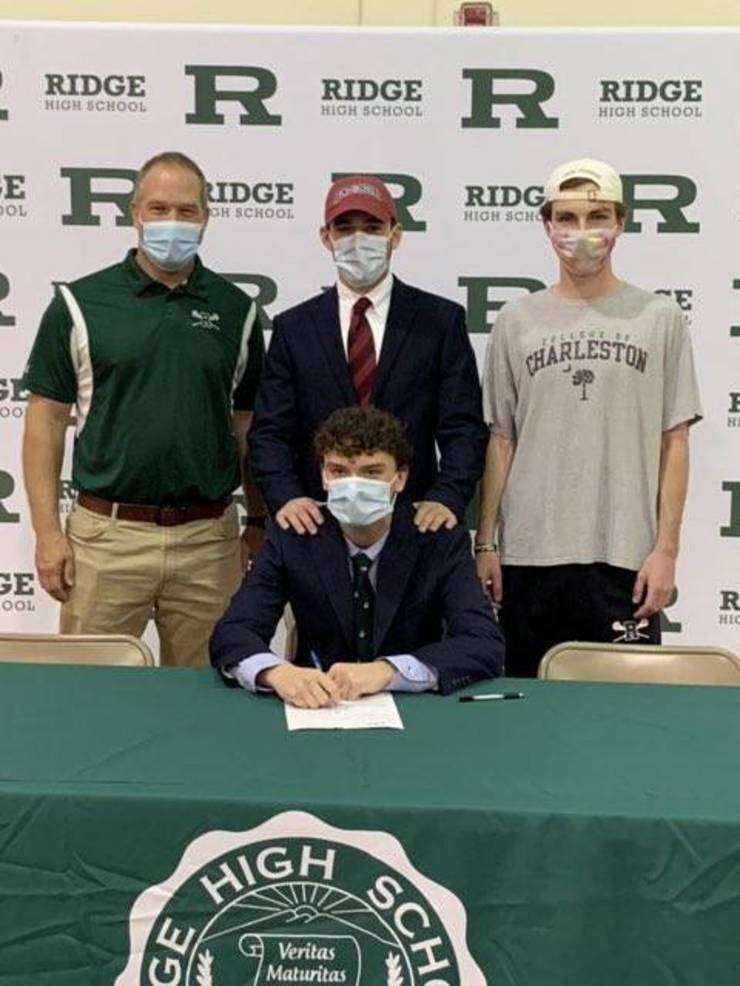 Ridge Boys Lacrosse Players Sign College Letters of Intent